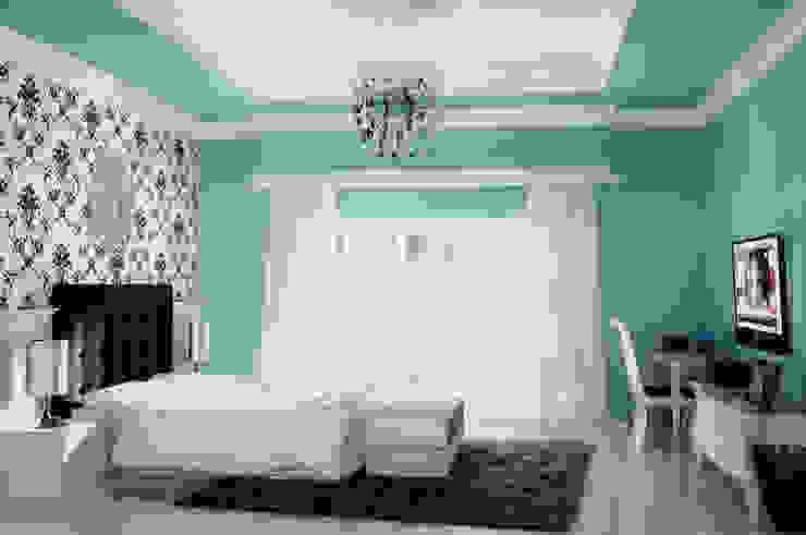 Phòng ngủ phong cách đồng quê bởi Celcius Indonesia Đồng quê Ván ép