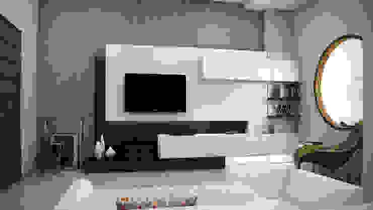 kamar tidur Utama rumah ibu Daisy Solo Modern Bedroom by Celcius Indonesia Modern Plywood