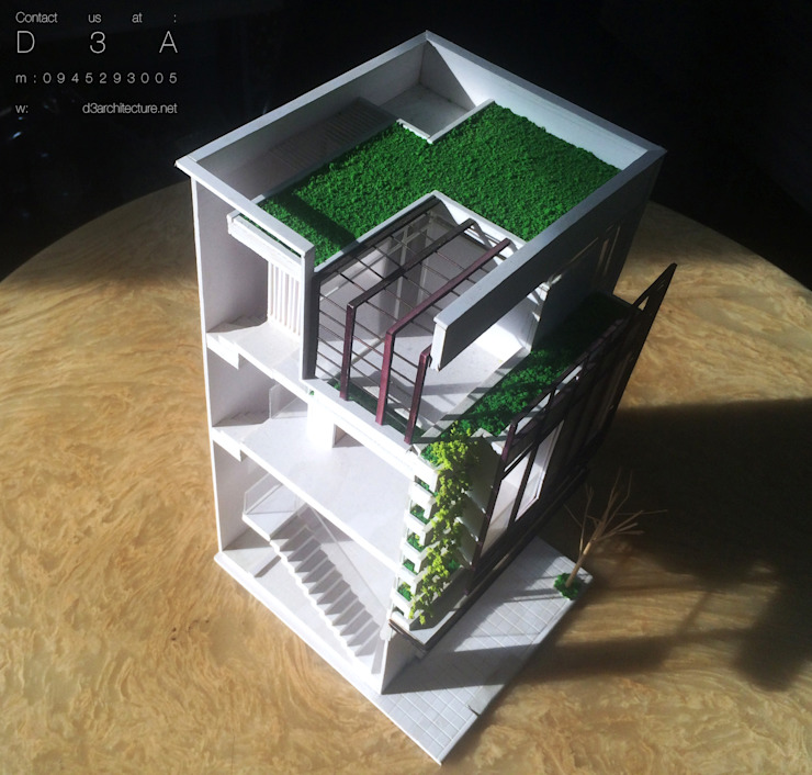 Nhà 6mx6m bởi D3A
