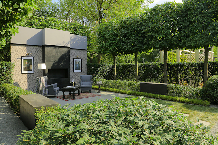 Зеленый кабинет Сад в стиле минимализм от BUGAEV Parks & Gardens Минимализм