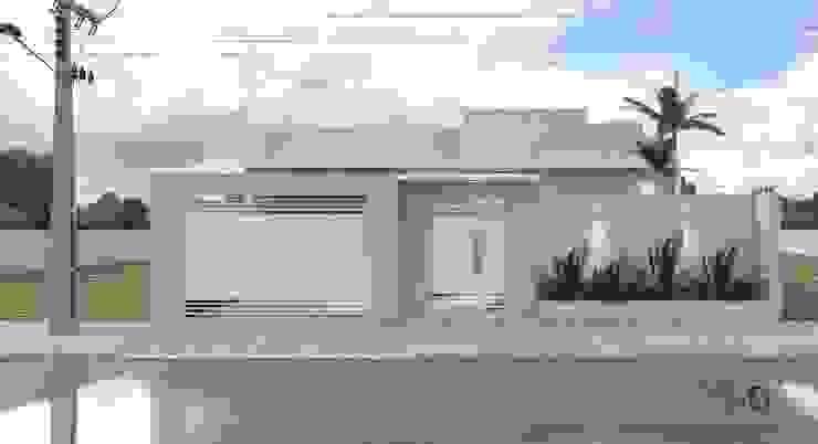 모던스타일 주택 by Aline Bassani Arquitetura 모던