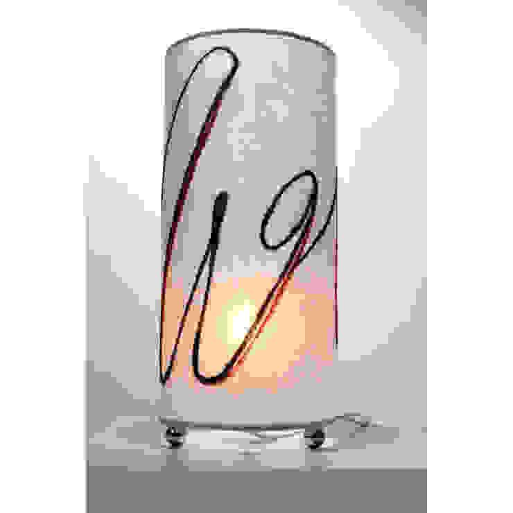 Lampada da tavolo 258 di Elena Kihlman Minimalista Sintetico Marrone