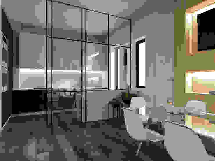 Cucina vetrata StudioExNovo Cucina moderna