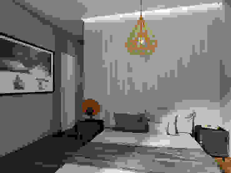 Camera da letto StudioExNovo Camera da letto moderna