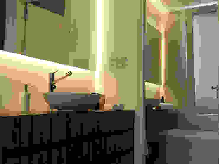 Casa Rajcic - Fiorito Baños modernos de Estudio Victoria Suriguez Moderno