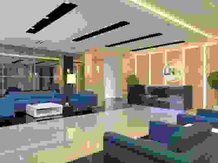 PT. LNK mojosari Bangunan Kantor Modern Oleh Kottagaris interior design consultant Modern