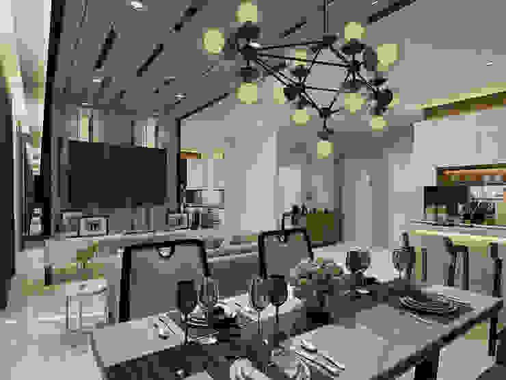 Vieloft apartment surabaya Event Venue Modern Oleh Kottagaris interior design consultant Modern