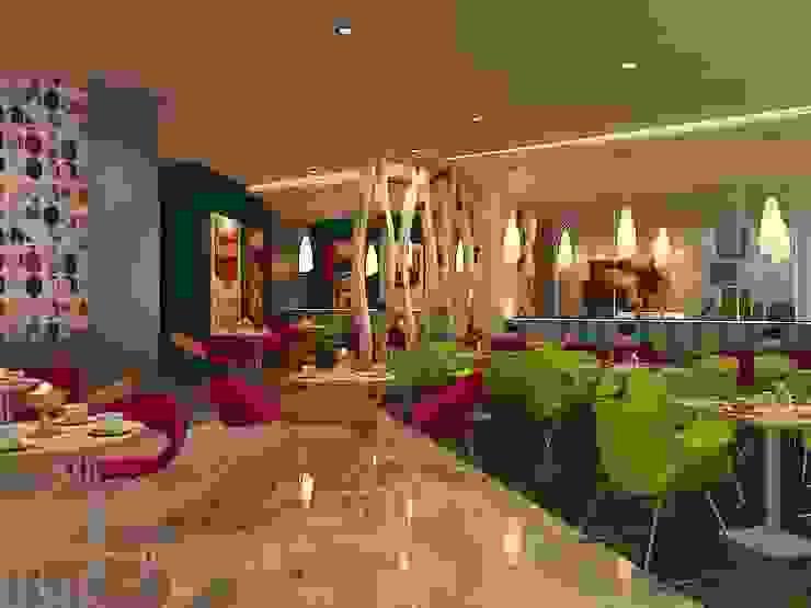 Hotel Coklat Hotel Modern Oleh Kottagaris interior design consultant Modern