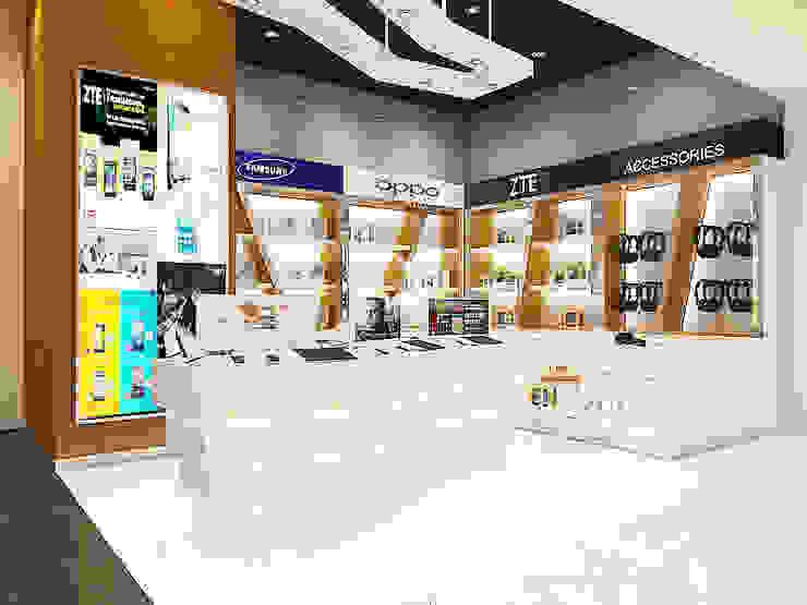 Mobile store Pusat Perbelanjaan Modern Oleh Kottagaris interior design consultant Modern