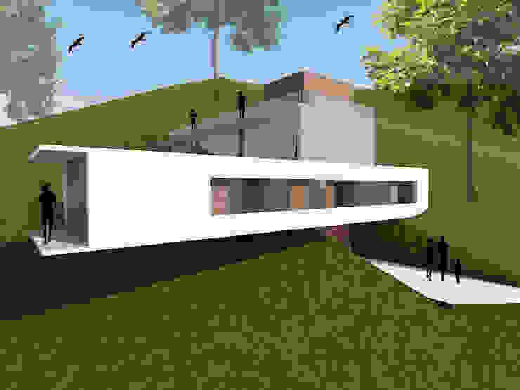 :  Einfamilienhaus von homify,Mediterran Stahlbeton
