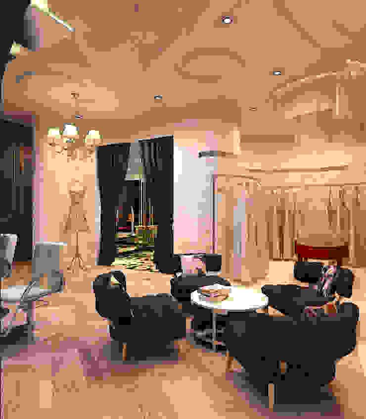 Lily sasongko bridal Ruang Komersial Gaya Eklektik Oleh Kottagaris interior design consultant Eklektik