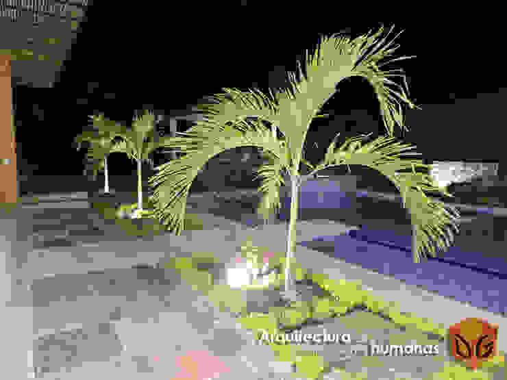 JARDINES Jardines de estilo moderno de DG ARQUITECTURA COLOMBIA Moderno Azulejos