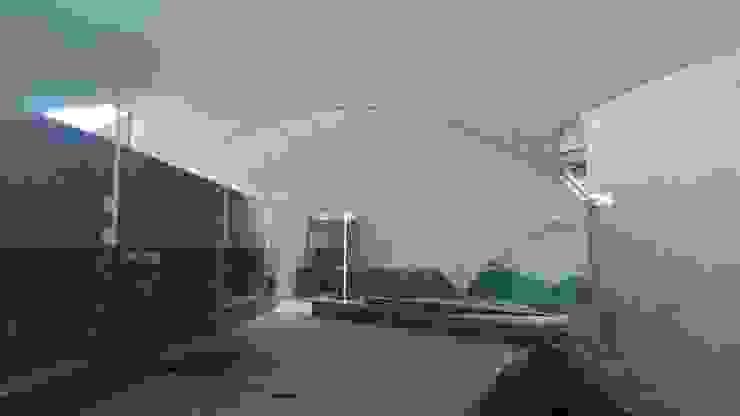 Materia Viva S.A. de C.V. Modern Corridor, Hallway and Staircase