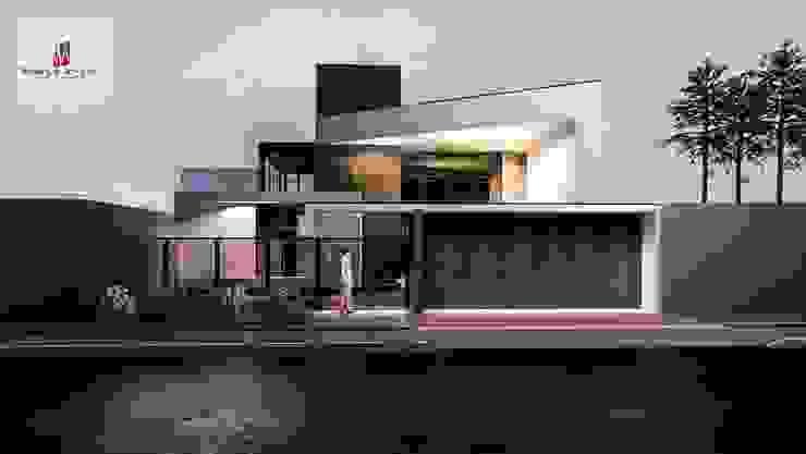 Rumah Modern Oleh Welington Nogueira · Arquitetura, Urbanismo e Design Modern