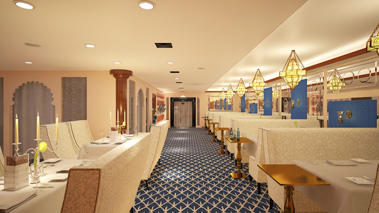 Restaurants Classic style dining room by Vivitsu Design Classic