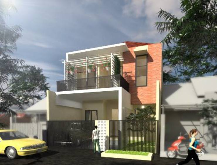 Brick House Oleh HRW architect