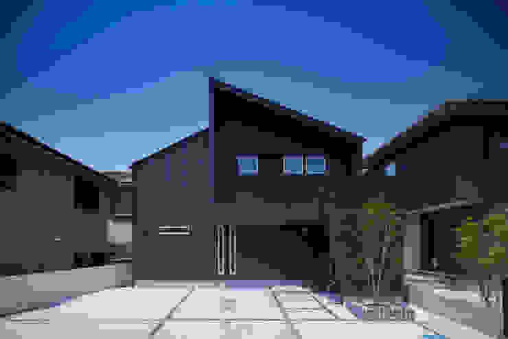 Casas de estilo  por Studio REI 一級建築士事務所,