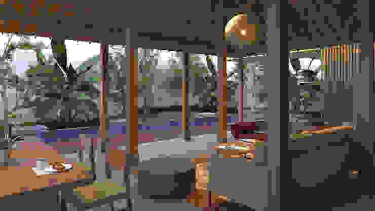 bintaro screen house Oleh e.Re studio architects