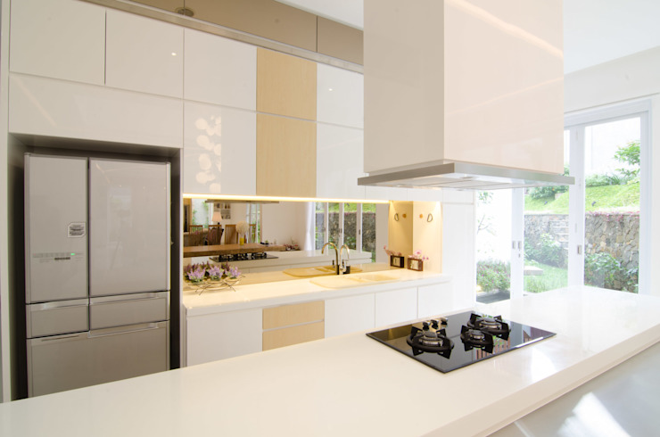 prv a126 Dapur Modern Oleh e.Re studio architects Modern
