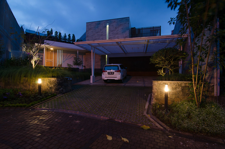 prv a126 Rumah Modern Oleh e.Re studio architects Modern