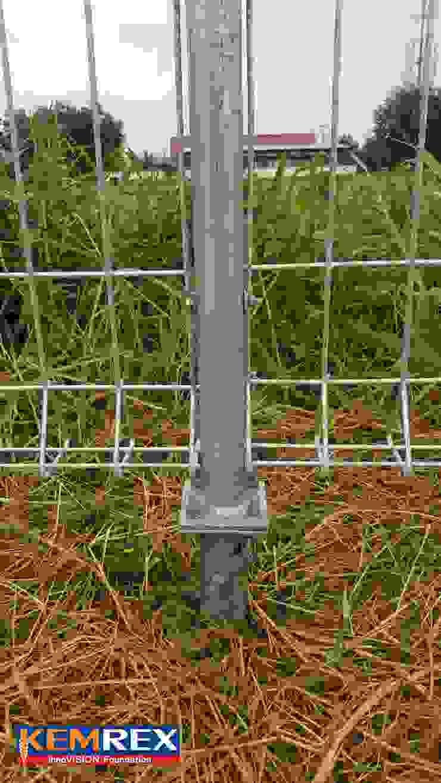 เข็มเหล็กงานฐานราก รั้ว Wire Mesh คุณรักสุด โดย บริษัทเข็มเหล็ก จำกัด