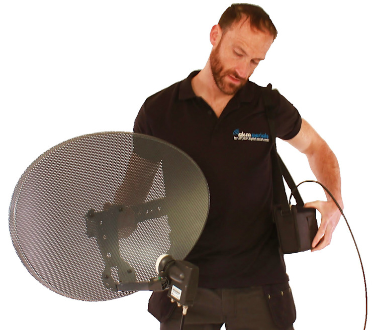 Satellite installations Bath Bath Aerials Electronics Metal Black