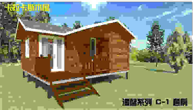 套房式小木屋 根據 金城堡股份有限公司 鄉村風 實木 Multicolored