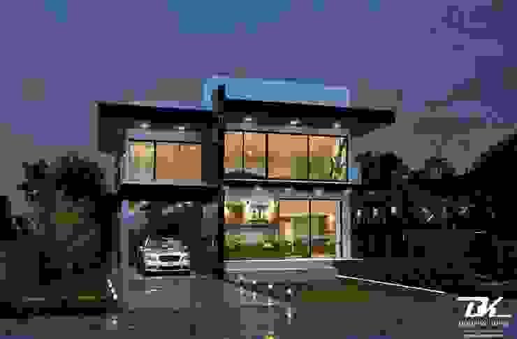 งานออกแบบบ้านสองชั้น BK Archstudio บ้านเดี่ยว