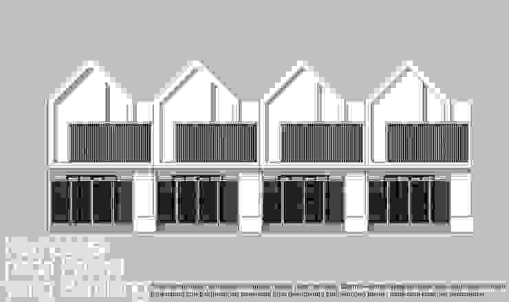 Fasad berulang:modern  oleh HRW architect, Modern