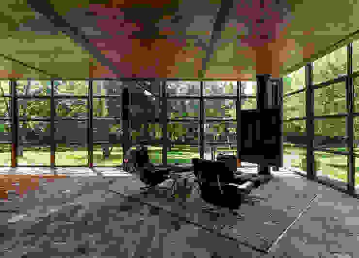 Nhà kính phong cách hiện đại bởi zanon architetti associati Hiện đại