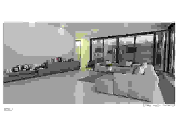 Ruang Keluarga :modern  oleh Solid+ Design Studio, Modern