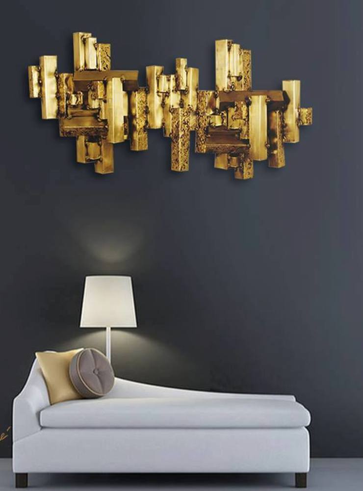 Wall Metal Art: modern  by Spacio Collections,Modern