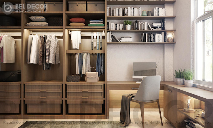 Wardrobe bởi Bel Decor