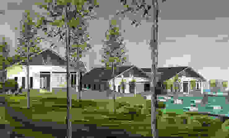 Viện tĩnh tâm – Thanh cao – Vĩnh phúc bởi Công ty cổ phần Kiến trúc và xây dựng AST Nhiệt đới