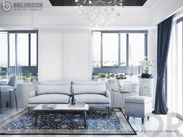 Living Room bởi Bel Decor