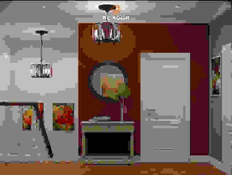 Reroom Eclectic style corridor, hallway & stairs