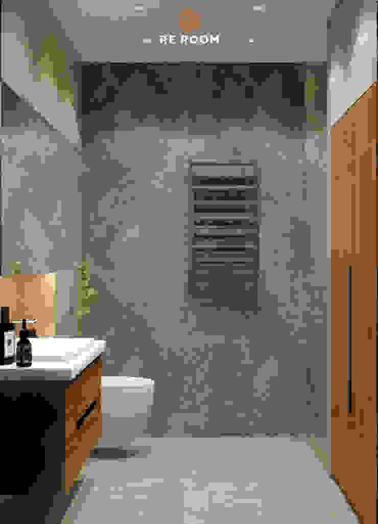 Reroom Eclectic style bathroom