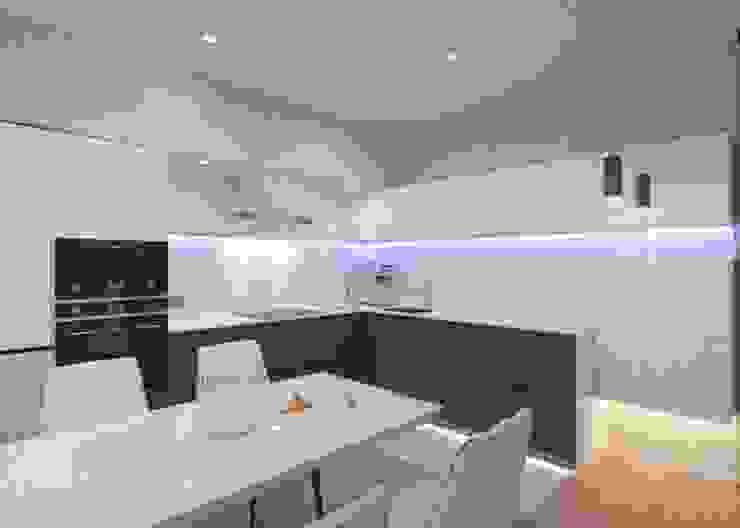 Cozinhas ecléticas por LUXEMBURG Eclético