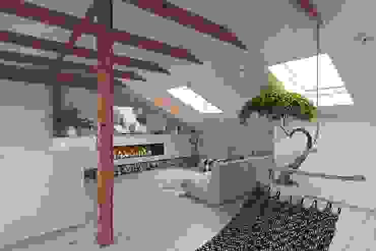 Salas de estar ecléticas por LUXEMBURG Eclético