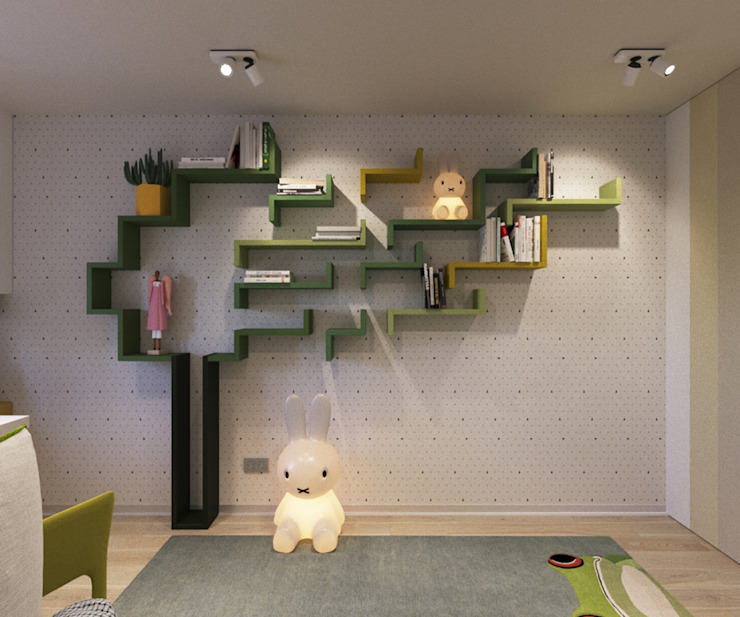 LUXEMBURG Eclectic style nursery/kids room