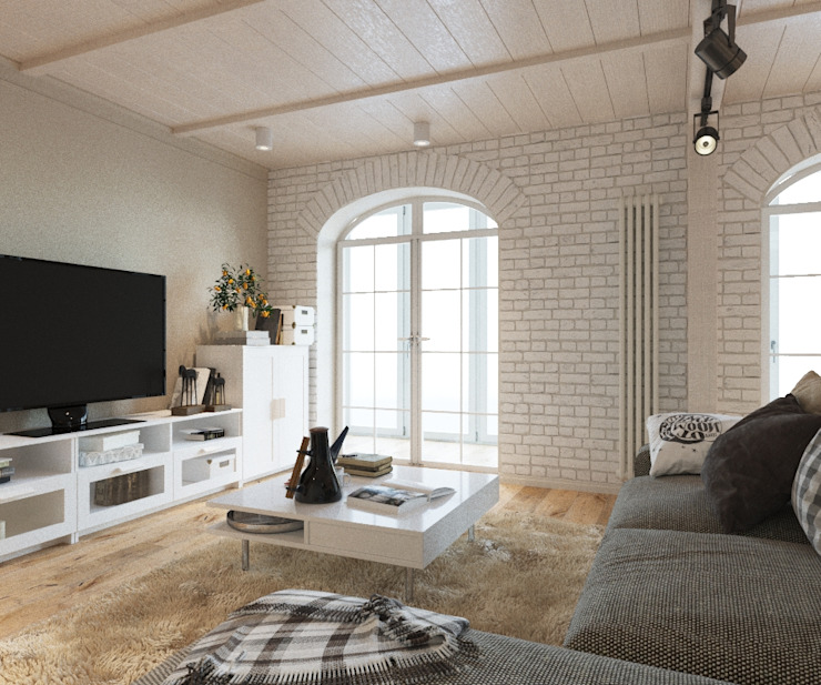 LUXEMBURG Scandinavian style living room
