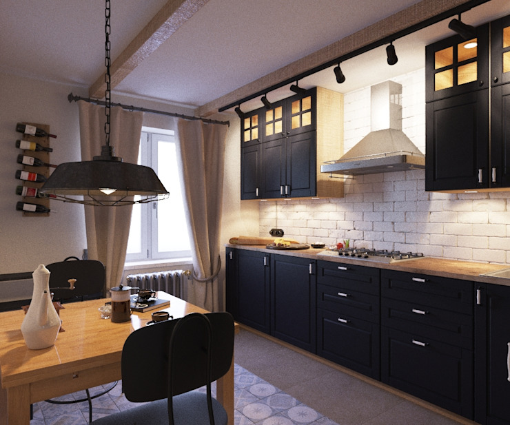 LUXEMBURG Scandinavian style kitchen
