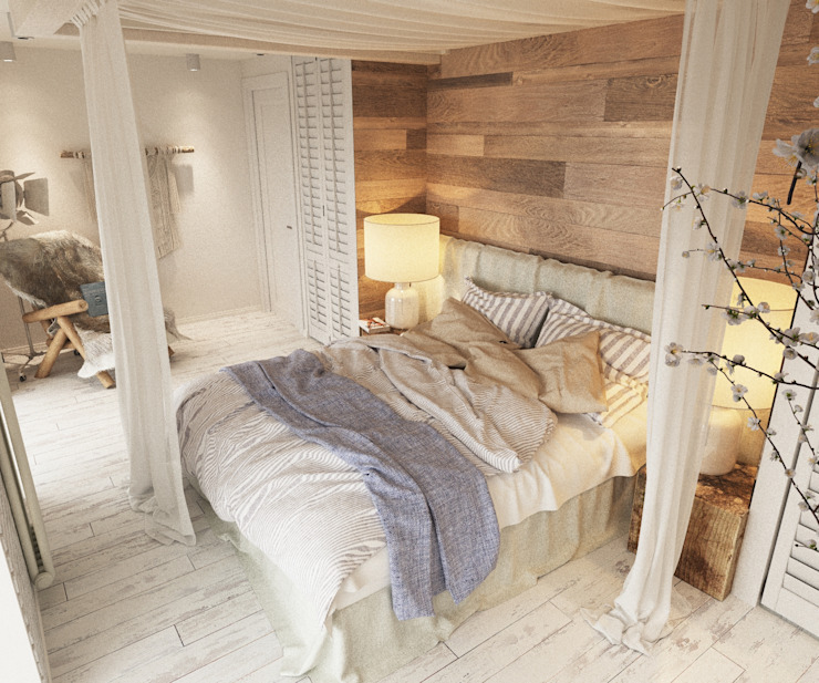LUXEMBURG Scandinavian style bedroom