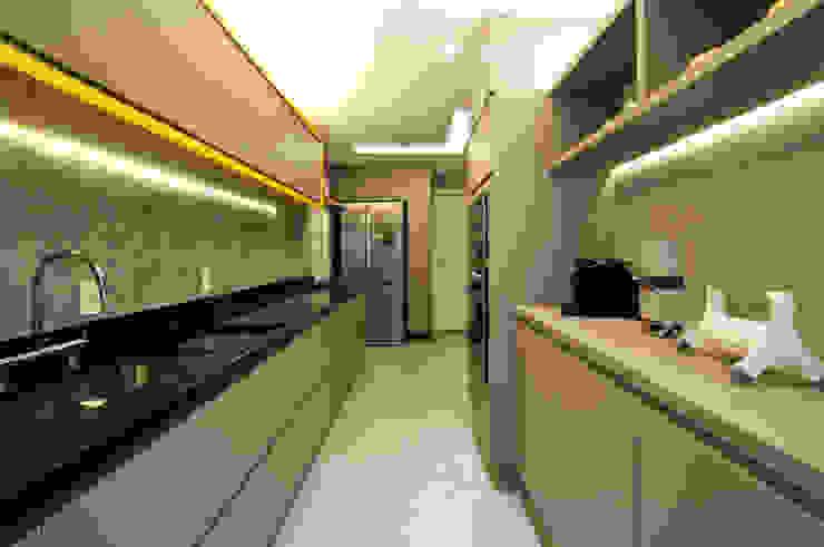 Residência Montedonio Mazzark Arquitetos Cozinhas minimalistas