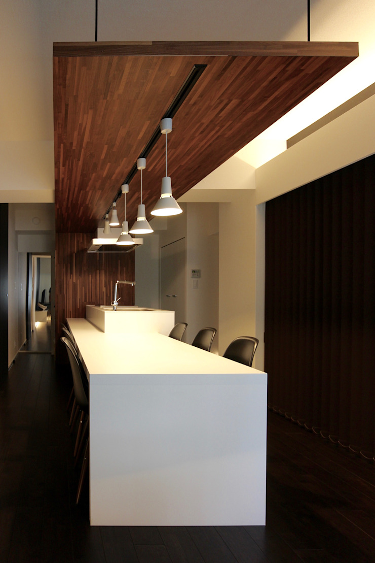 前田敦計画工房 Modern dining room