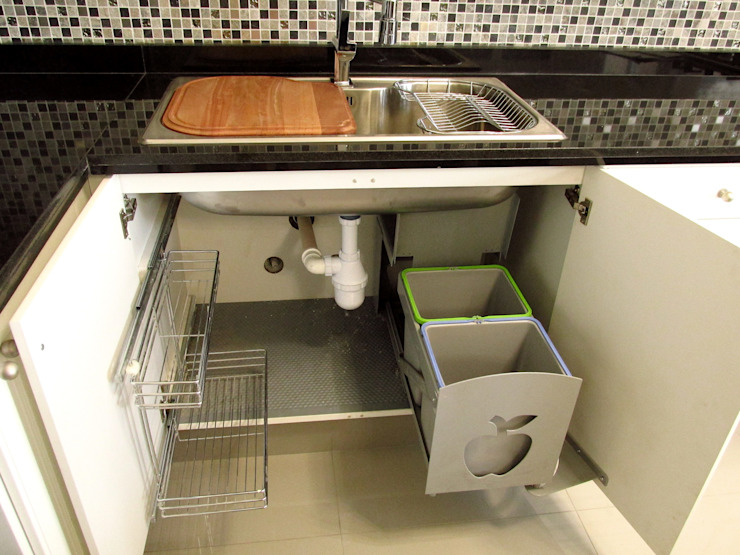 Mueble lavaplatos de ABS Diseños & Muebles Clásico
