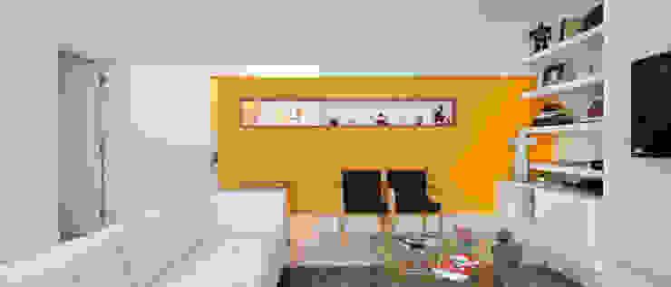 Living room by [ER+] Arquitectura y Construcción, Minimalist
