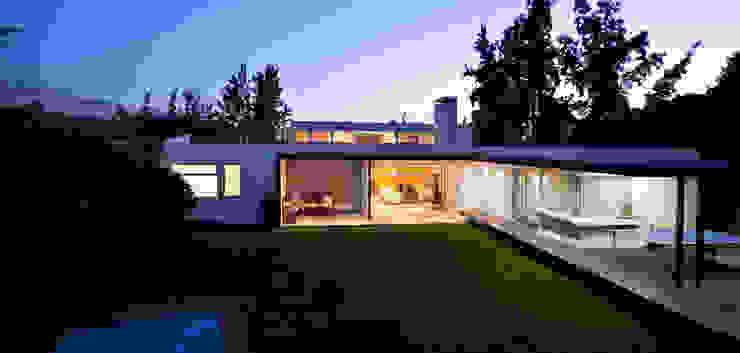 Terraza y Jardín [ER+] Arquitectura y Construcción Antejardines