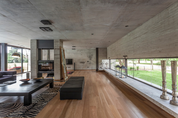 Minimalist living room by Ciudad y Arquitectura Minimalist