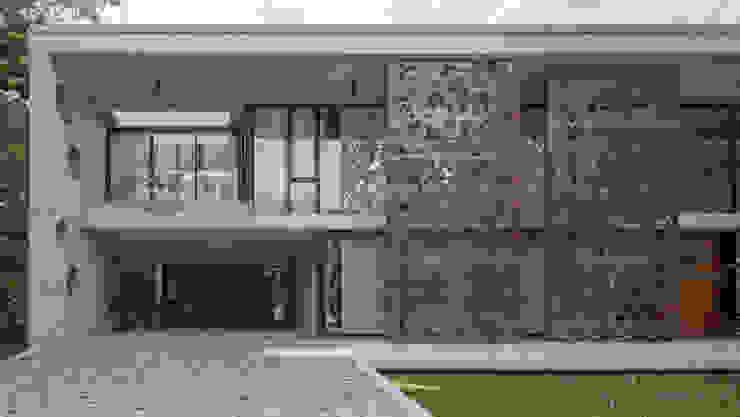 Casa HK de Ciudad y Arquitectura Minimalista
